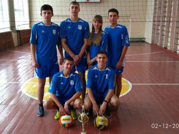 Команда з волейболу Інформаційно-технологічного відділення Первомайського коледжу
